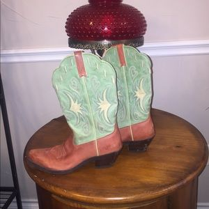 Ariat women's Heritage Leather Cowgirl Boots 7.5B